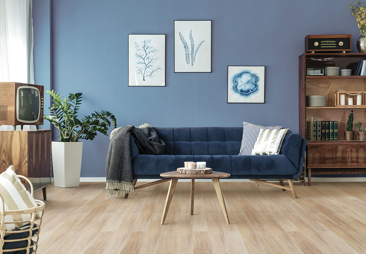 PVC Click sawn bisque oak wicanders